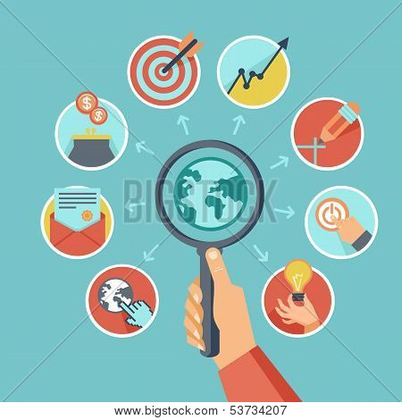 Vector businessconcept