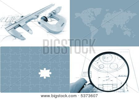Global Engineering Concept