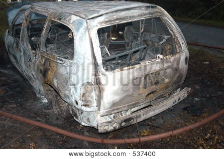 Burnt Vehicle