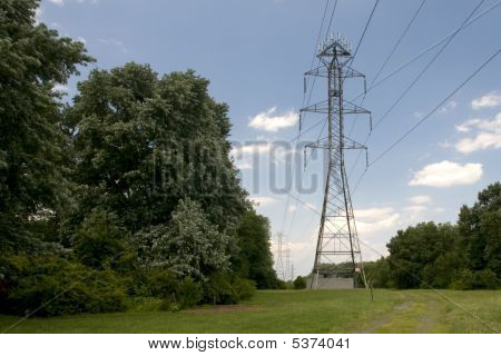 High Power In The Trees
