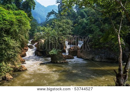 river in Vietnam