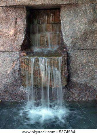 Fdr Memorial Waterfall