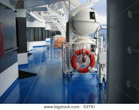 Ship Deck Walk Way