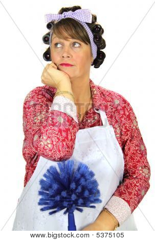 Bored Frumpy Housewife