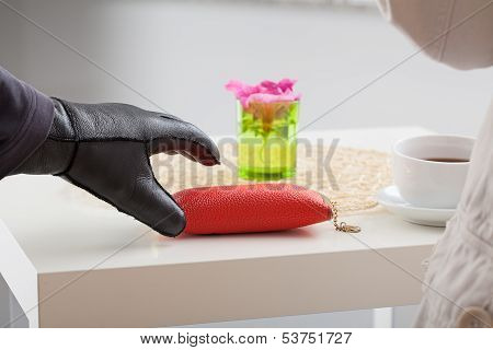 Glasses Case Stealing