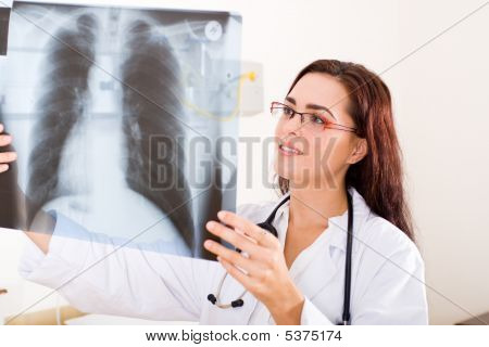 Female Radiologist