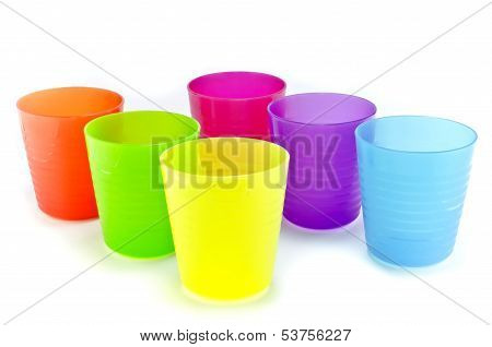 Plastic Ware With White Isolate Background