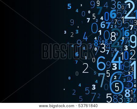 Blue Digits