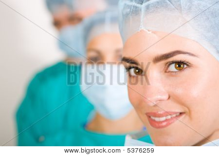 Woman Surgeon