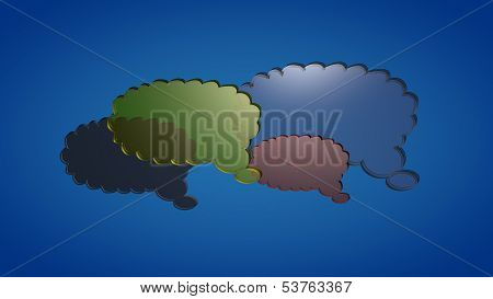 Glas clouds