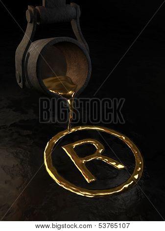 Golden Trademark symbol