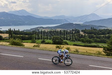 The Cyclist Thomas De Gendt
