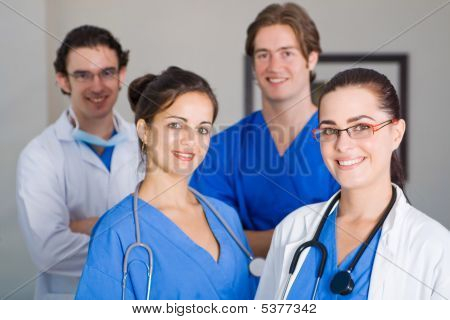 medical staff team