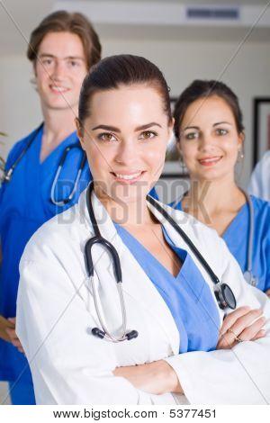 Krankenhaus-Ärzte