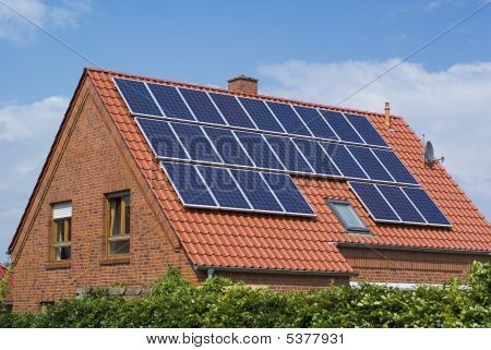 Environment Friendly, Solar Panels.