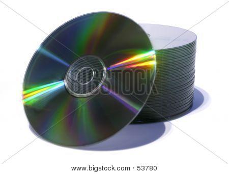 Stapel von CDs
