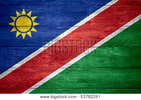 Flag Of Namibia