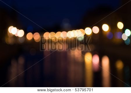 Illuminated Background Lights