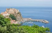 Scilla, Calabria, Ruffo Castle and town