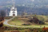stock photo of suceava  - Romanian monastery - JPG