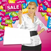 image of chatterbox  - Sale concept - JPG