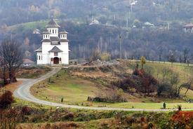 picture of suceava  - Romanian monastery - JPG