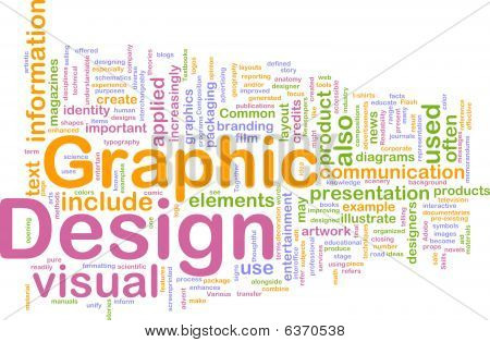 Graphic Design Background Concept