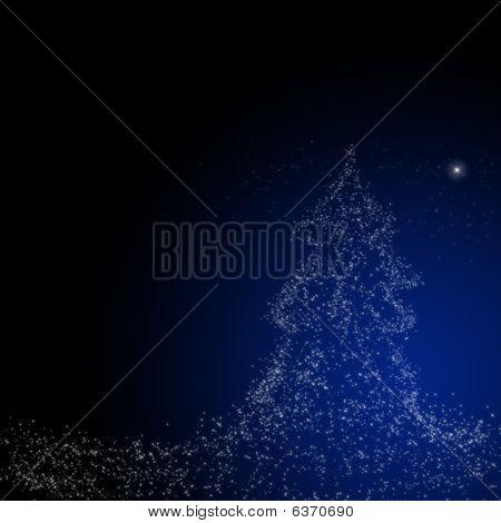Christmas  Background : Star Of Bethlehem