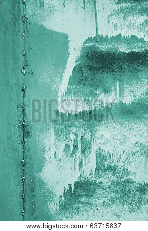 Abstract Turquoise Surface