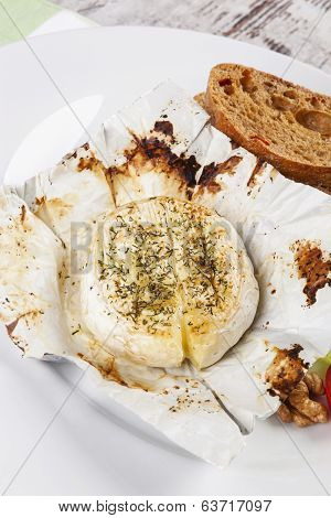 Melted Camembert.
