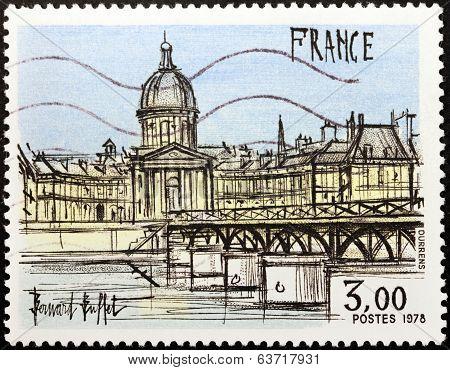 Bernard Buffet Stamp