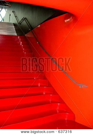 Blazing Staircase