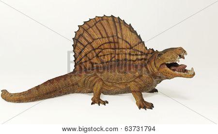 A Dimetrodon, A Permian Predatory Reptile