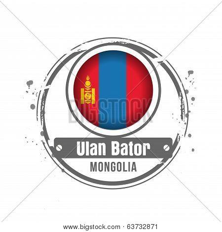 stamp Mongolia