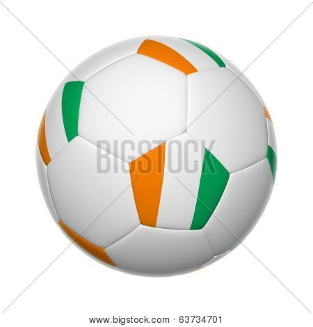 Côte D'ivoire Soccer Ball