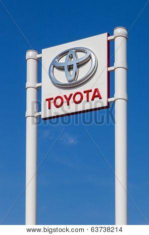 Samara, Russia,The Emblem Toyota