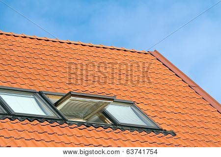 Red Roof Of House