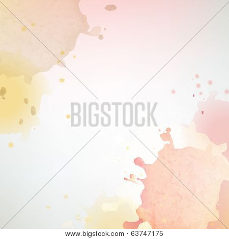 Pastel Blobs Background