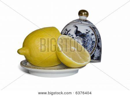 Lemon And China Dishes