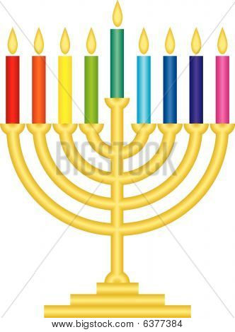 Channukah lamp