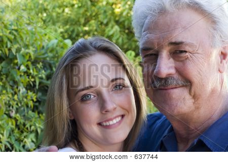 Grandfather & Grandaughter