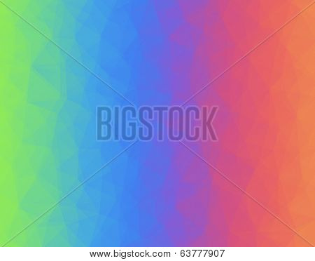 Abstract geometric polygonal background composed of triangles. Vector illustration.