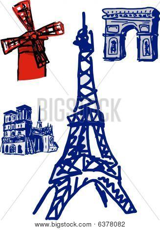 Paris famous constraction.