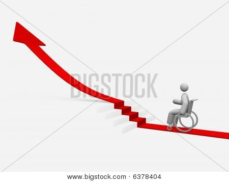 stair diagram for disabled