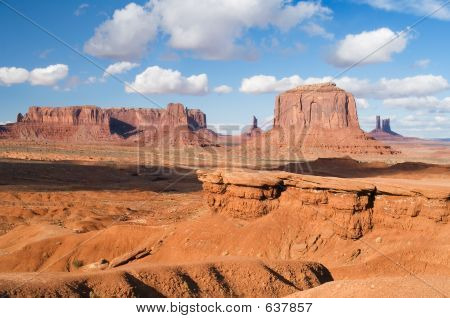 John Point In Monument Valley, Arizona