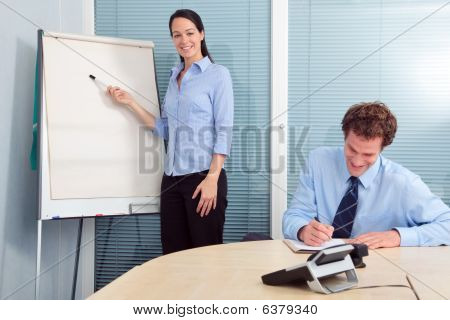 Businesswoman Presentation