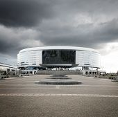 image of hockey arena  - Minsk Arena in Belarus - JPG