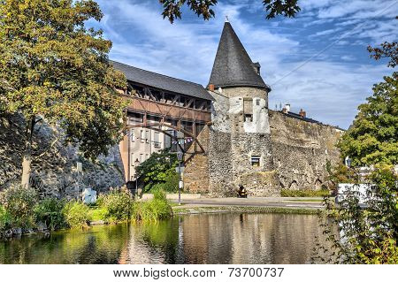 Tower Of The Old City Wall Of Andernach,