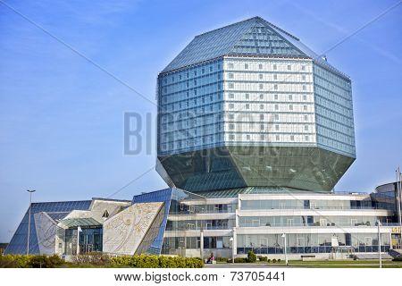 National library of Belarus in Minsk