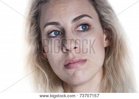 European Woman Face